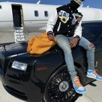 NFL Fashion: Emmanuel Sanders Styles In A Louis Vuitton Crochet Flowers Varsity Jacket