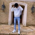 Basketball Player Ja Morant Wears A Dior Gray Molton Cotton Hoodie With Dior And Daniel Arsham Eroded Logo 3D Print