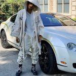 """Teyana Taylor Rocks A Pair Of """"Triple Black"""" Nike Air Fear Of God 1 Sneakers"""