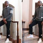 NFL Draft: Jeff Okudah In Thom Browne
