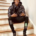 NBA Player Ja Morant Wears A Moncler Black Down Maya Jacket & Alexander McQueen Black Oversized Sneakers