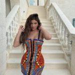 Kylie Jenner Wears A Dress From Balmain's Resort 2021 Collection