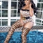 Malaysia Pargo's Christian Louboutin Metrolisse 100 Leopard Print Over The Knee Boots & Gucci GG Buckle Leather Belt