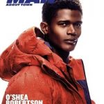 O'shea Robertson Covers Man About Town Magazine
