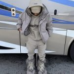 Teyana Taylor Outfitted In Fear Of God ESSENTIALS And Moncler + Rick Owens