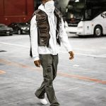 Shai Gilgeous-Alexander Wears A Louis Vuitton Inflatable Monogram Canvas Gilet