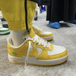 FIRST LOOK: Nike x Louis Vuitton Air Force 1 Sneakers