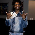 Houston We Have A Problem: Joshua Christopher Wears A Multi-Tone Denim Look At Press Conference