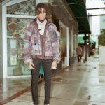 Nle Choppa Wears A Dolce & Gabbana Camouflage Print Jacket