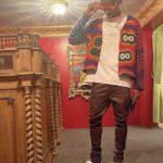 Shai Gilgeous-Alexander Layered In The Elder Statesman, Gallery Dept., Rick Owens, Louis Vuitton And Fragment Design x Travis Scott x Air Jordan 1 Retro Low